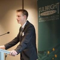 Fulbright Postgraduate Scholarship recipient Abel-John Buchner