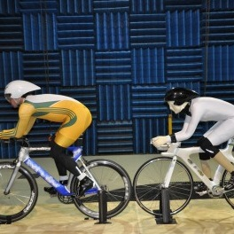 The researchers analysed the aerodynamic force variation of the athletes subject to interference and the change in forces, particularly drag, allowed them to model and predict the effect on performance.