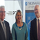 CEO of Public Transport Victoria Gary Liddle, Minister for Public Transport Jacinta Allan and Professor Graham Currie. Photo credit Eric Brotchie