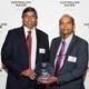 L-R Professor Jayantha Kodikara and Mr Dammika Vitanage. Image credit: Australian Water Association and Graynoise